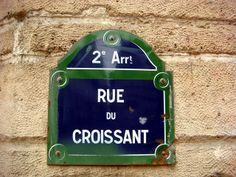 2nd arrondissement - Croissant Street :)