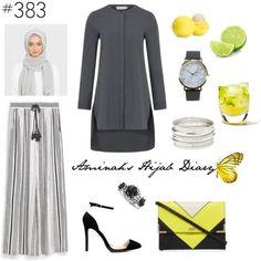 Hijab Fashion 2016/2017: Aminahs Hijab Diary #hijab #hijabfashion #modest…