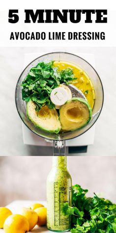 Creamy Avocado Cilantro Lime Dressing - Paleo Gluten Free Eats