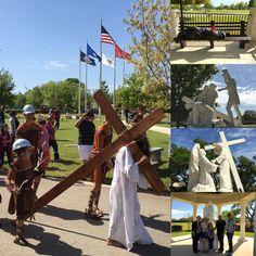 Viernes Santo - El Viacrucis en Cordie Marian. 25/03/16