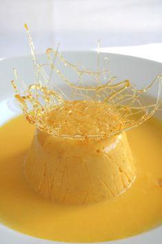 Bavarese di cachi salsa alla vaniglia | il cavoletto di bruxelles