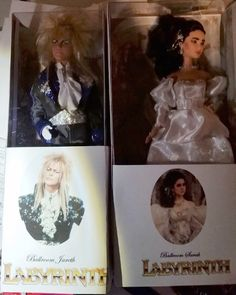 Dad Customizes Barbie And Ken Into Labyrinth's Sarah And Jareth For His Daughter
