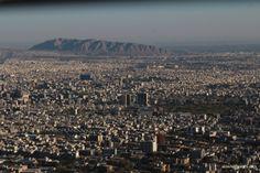 View of Tehran from Milad Tower, Tehran, Iran #idowhatiwanto