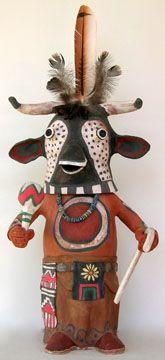 Molly  Heizer - 10120 Wakas Cow Kachina
