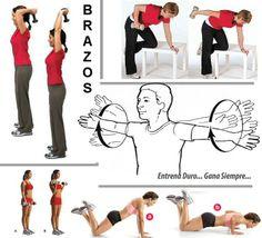 #Ejercicios para la flacidez de los brazos - #Culturismo http://williambodybuilder.com/ http://fuerzamaximawilliam.wordpress.com/
