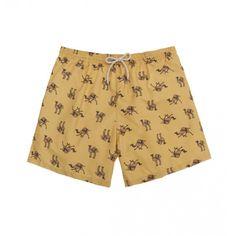 Sand camels swim short /  bañador camellos color arena