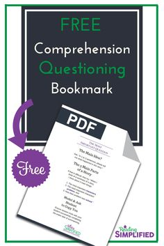 Are you asking TOO MANY comprehension questions but ignoring the 1 most VITAL one? Discover why summarizing is essential to reading achievement & how to coach students to develop that skill. Also, snag a FREE bookmark to remind you of the coaching tips! #readingcomprehension #comprehension #summarize #summarizing Reading Comprehension Strategies, Comprehension Questions, Teaching Strategies, Reading Fluency, Teaching Reading, Reading Tutoring, Reading Aloud, Improve Reading Skills, Reading Incentives