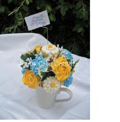 one of many bouquets requested for Mothers Day.  13 minis.  TFL