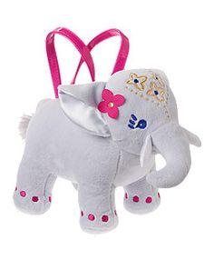 NWT Gymboree Fruit Punch Flamingo Plush Purse Bag Toy Doll Girls