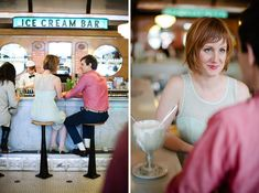 Ice Cream Bar in cole valley. first place that popped into my head for a fun shoot!