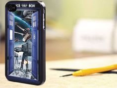 tardis doctor who star wars for iphone case, Samsung Galaxy Case, iPod Case, HTC Case, Blackberry Case, Sony Case on Etsy, $8.00