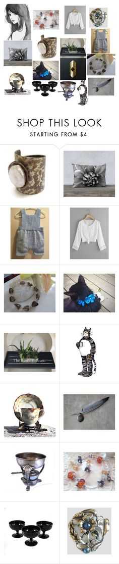 """""""Great Gift Ideas on Etsy"""" by anna-recycle ❤ liked on Polyvore featuring Noritake, modern, rustic and vintage"""
