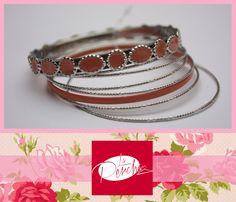 La Percha Bisutería Jewelry  Pulsera Bracelet Aro Accesorios para mujer Moda Fashion