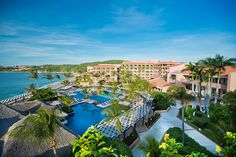 An all inclusive resort in Huatulco situated on the idyllic Playa de Tangolunda which is perfect for luxury family vacations in Mexico. Mexico Resorts, Mexico Vacation, Mexico Travel, Vacations To Go, All Inclusive Vacations, Dream Vacations, Last Minute Travel Deals, Visit Mexico, Need A Vacation