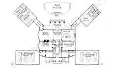 Newport Hall House Plan -