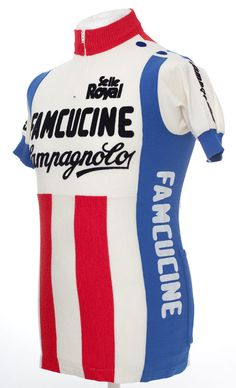 Famcucine campagnolo vintage wool cycling jersey maillot maglia eroica d49d06646