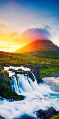 Snaefellsnes waterfalls, Iceland