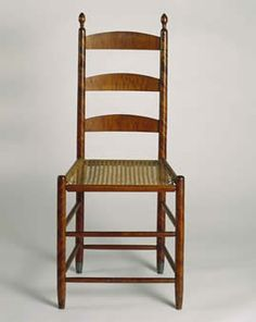 Shaker Chair. Shaker Museum and Libray