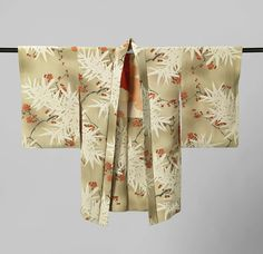 Woman's Haori with Flowering Plum and Bamboo, anonymous, 1920 - 1940