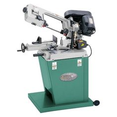 """Grizzly G9742 5"""" x 6"""" Metal-Cutting Bandsaw w/ Swivel Head - This is one of the best saws on the market for the small or large shop.  It features a 5"""" round and 5"""" x 6"""" rectangular capacity.  But what really sets this apart from other saws of this si"""