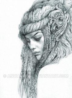 Silk and silver by Anwaraidd.deviantart.com on @DeviantArt