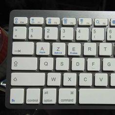 Il governo francese vuole cambiare il layout delle tastiere AZERTY