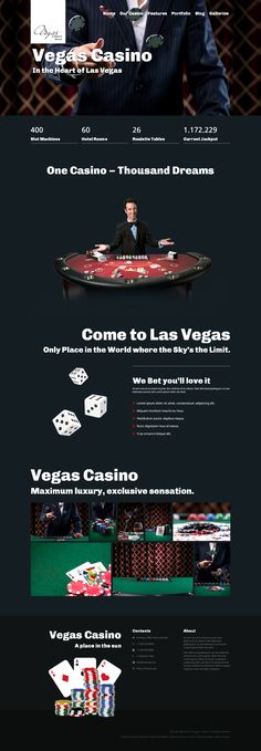 Vegas - the ultimate #Casino #WordPress #Theme with powerful features, 100% responsive and fully customizable.