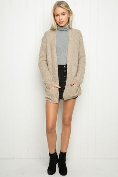 Brandy ♥ Melville | Abby Cardigan - Sweaters - Clothing