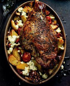 LAMB Kleftiko ~ combination of tomatoes, red pepper, potatoes & garlic