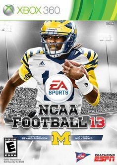 0ed514ed5 Denard Robinson - Michigan Wolverines U Of M Football