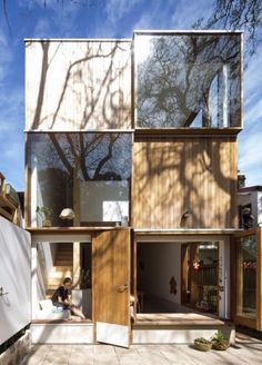 Great design inspiration for a container house