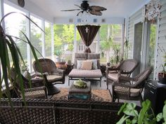 Back Porch  to Outdoor Room!