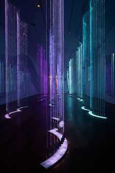 Cantus Arcticus - #light #art #installation by Bruce Munro
