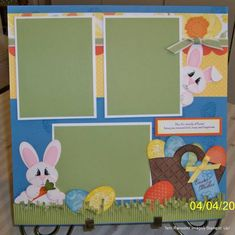 Easter 12X12 April SB Club by tayransom - Cards and Paper Crafts at Splitcoaststampers
