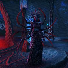 Mephala in the Dreaming Cave (ESO) Dark Fantasy Art, Fantasy Artwork, Daedric Prince, Dnd Character Sheet, Elder Scrolls Lore, Spooky Costumes, Bioshock, Skyrim, Character Design