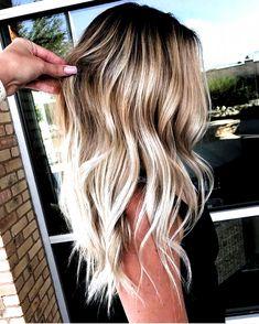Sandy Blonde Hair, Blonde Hair Looks, Brown Hair Dyed Blonde, Medium Length Hair Blonde, Neutral Blonde Hair, Butter Blonde Hair, Blonde Hair For Summer, Ombre Hair For Blondes, Hair Colors For Blondes