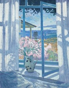 ANNABEL GOSLING Window at Xyloporta, Early Morning