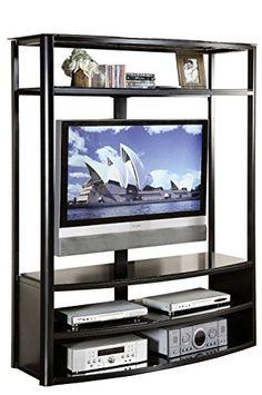 Delancey Black TV Stand