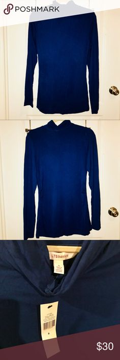 NWT ROLL NECK JERSEY TOO SIZE S LONG TALL SALLY NWT ROLL NECK TOP PERFECT FOR LAYERING! LONG TALL SALLY Tops