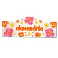 Personalized Flower Power Kid's Sign - FREE SHIPPING $39.00