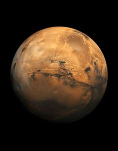 Beautiful Image of Mars...not the moon, per se, but still...a beautiful shot of the planet Mars...