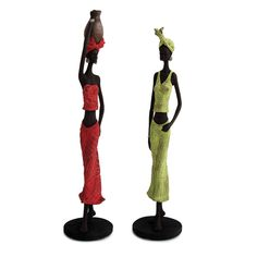 Zulu Tribal Lady Figurines - Bed Bath & Beyond