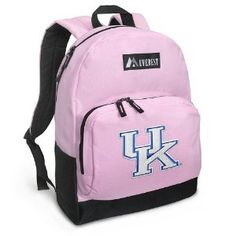 University of Kentucky Backpack Pink UK Wildcats Logo for Travel, Daypack CUTE School Bags Best Unique Cute Gifts for Girls, Students Ladies - (Apparel) http://www.amazon.com/dp/B004A9G18W/?tag=wwwmoynulinfo-20 B004A9G18W