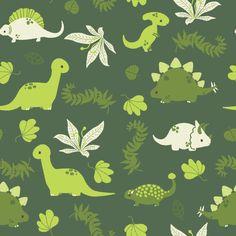 Dino Dino Pattern by pronouncedyou http://pronouncedyou.deviantart.com/art/Dino-Dino-Pattern-318571718