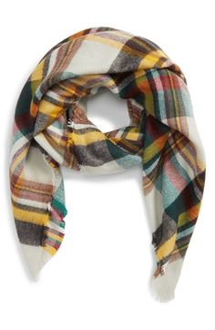 Shiraleah 'Moore' Plaid Scarf available at #Nordstrom