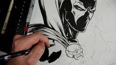 Tips on Traditional Inking for Comics Pentel Pocket Brush Pen, Tombow Brush Pen, Comic Drawing, Manga Drawing, White Out Pen, Horse Pens, Tombow Fudenosuke, Stippling Art
