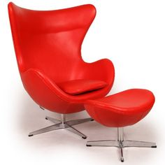 This premium Egg chair reproduction and the matching ottoman are a sculptural masterpiece. The original design was created by Arne Jacobsen in 1958, and versions of it sell today for upwards of $5,000. You can have this beautiful reproduction in your home at a fraction and the best part is no one will know the difference. Its creation is taken from respect of the dimensions, the angles...