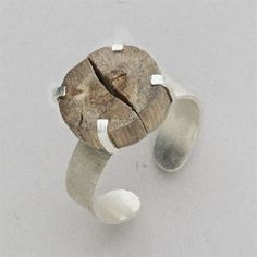 Sometimes we just need to let the tides take us. Let this sterling silver Driftwood Ring be encouragement to go with the ebb and flow. A slice of driftwood, collected from Indonesian beach, is…MoreMore #SilverJewelry