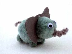pom poms elefante