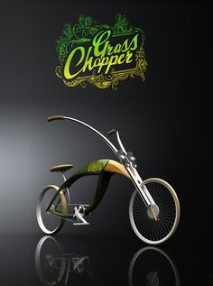 BIKE (GrassChopper) by Mateusz Chmura, via Behance